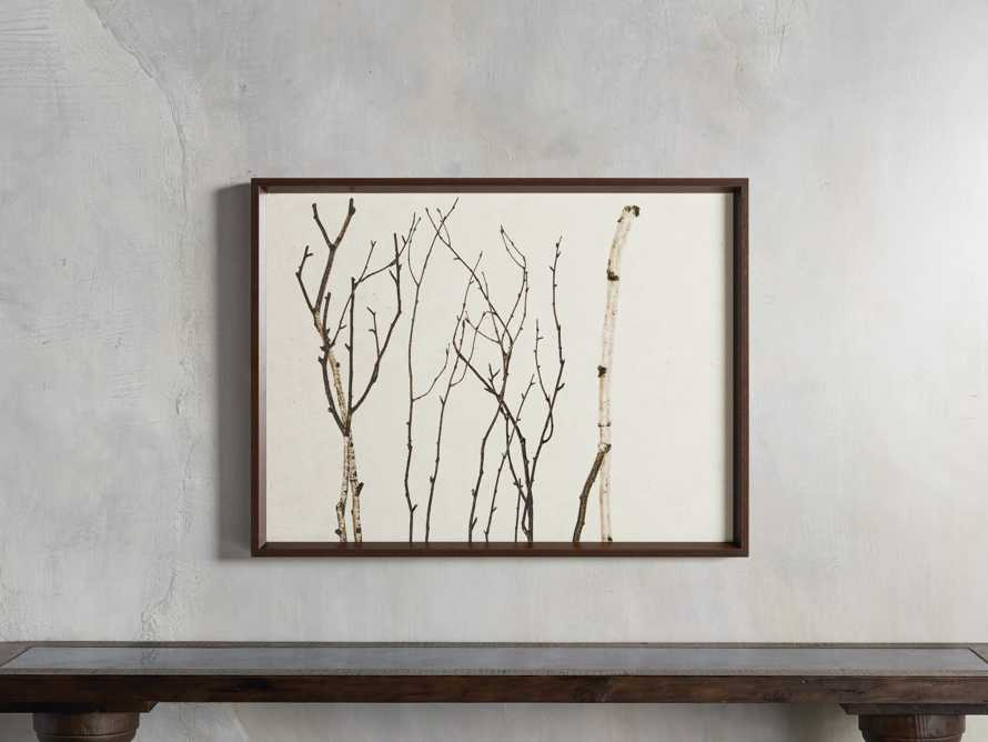 Birch Triptych Framed Print, slide 6 of 9