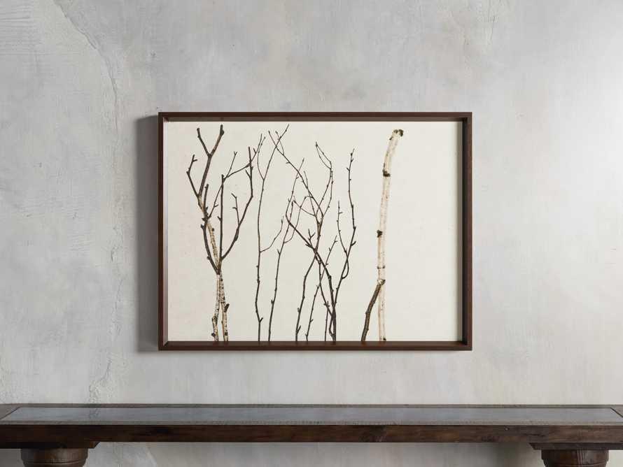 Birch Triptych Framed Print, slide 7 of 10