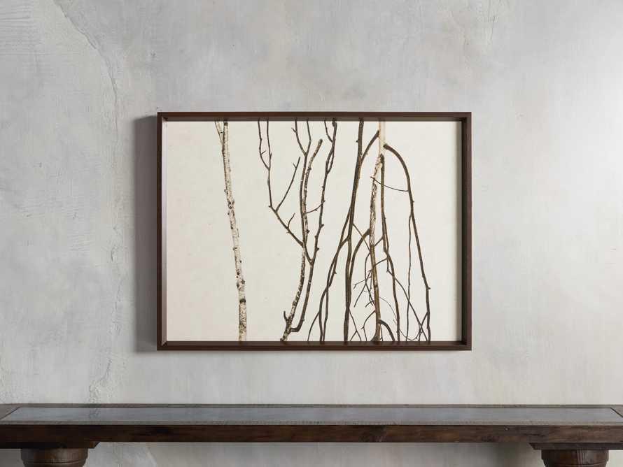 Birch Triptych Framed Print, slide 8 of 10