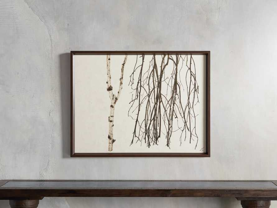 Birch Triptych Framed Print, slide 8 of 9