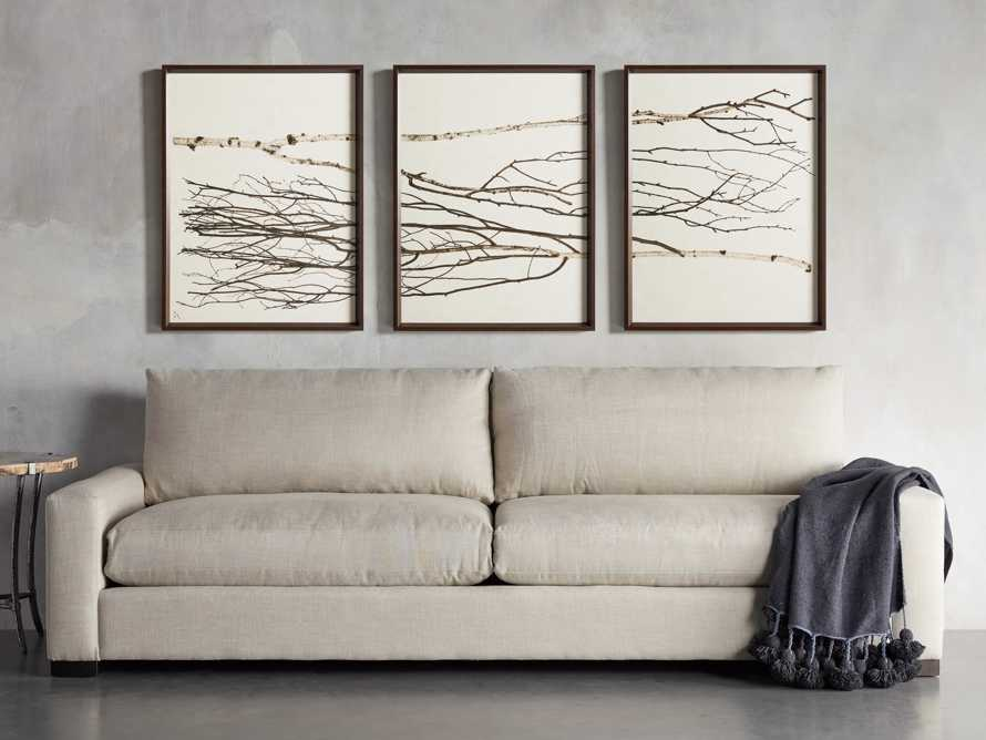 Birch Triptych Framed Print, slide 9 of 9