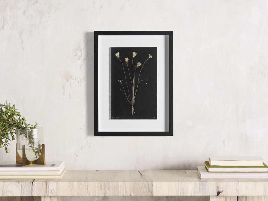 Golden Queen Anne's Lace Framed Print, slide 1 of 5