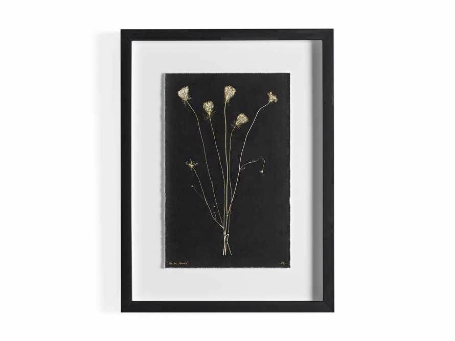 Golden Queen Anne's Lace Framed Print, slide 5 of 5