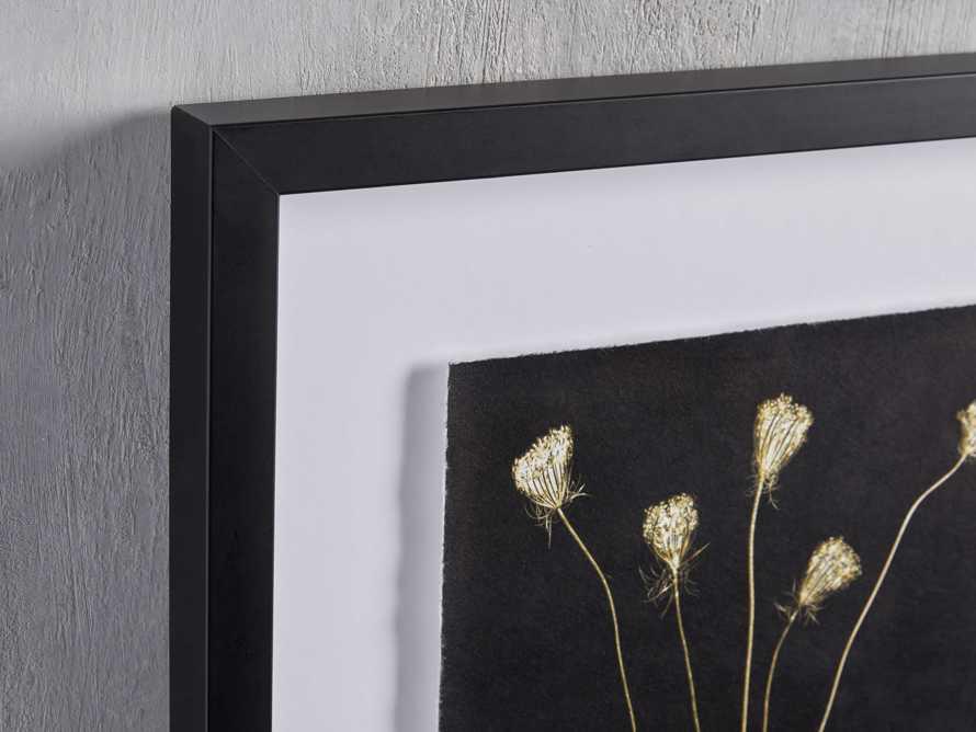 Golden Queen Anne's Lace Framed Print, slide 2 of 5