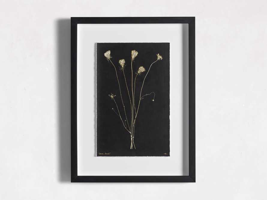 Golden Queen Anne's Lace Framed Print, slide 3 of 5