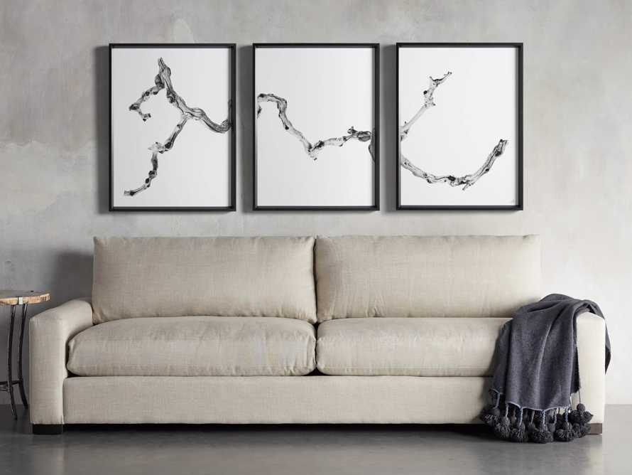 Branch Triptych Framed Print, slide 8 of 8
