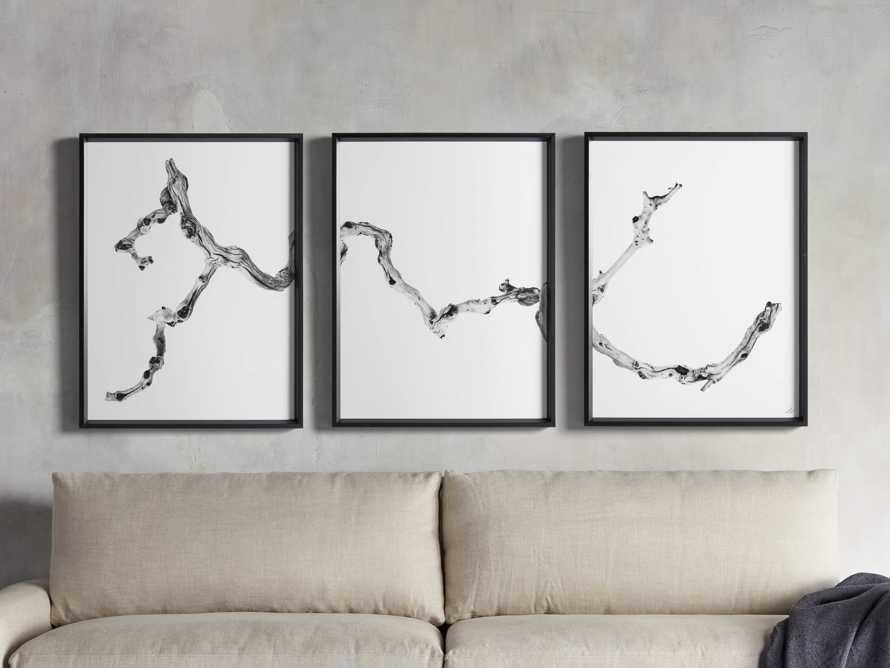Branch Triptych Framed Print, slide 1 of 8