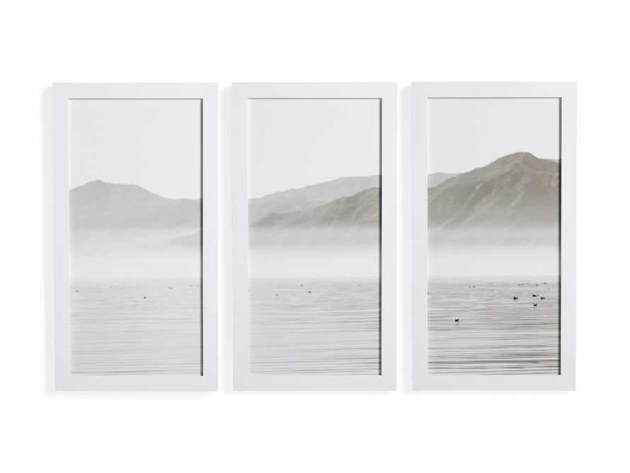 Oceanic Summit Triptych Framed Print, slide 3 of 3