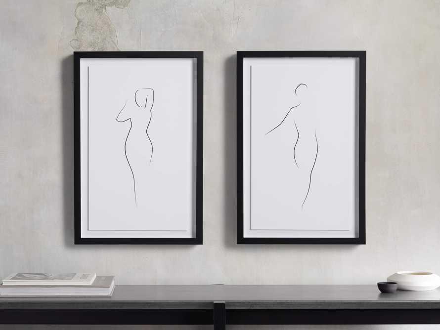 Figure Framed Print II, slide 3 of 6