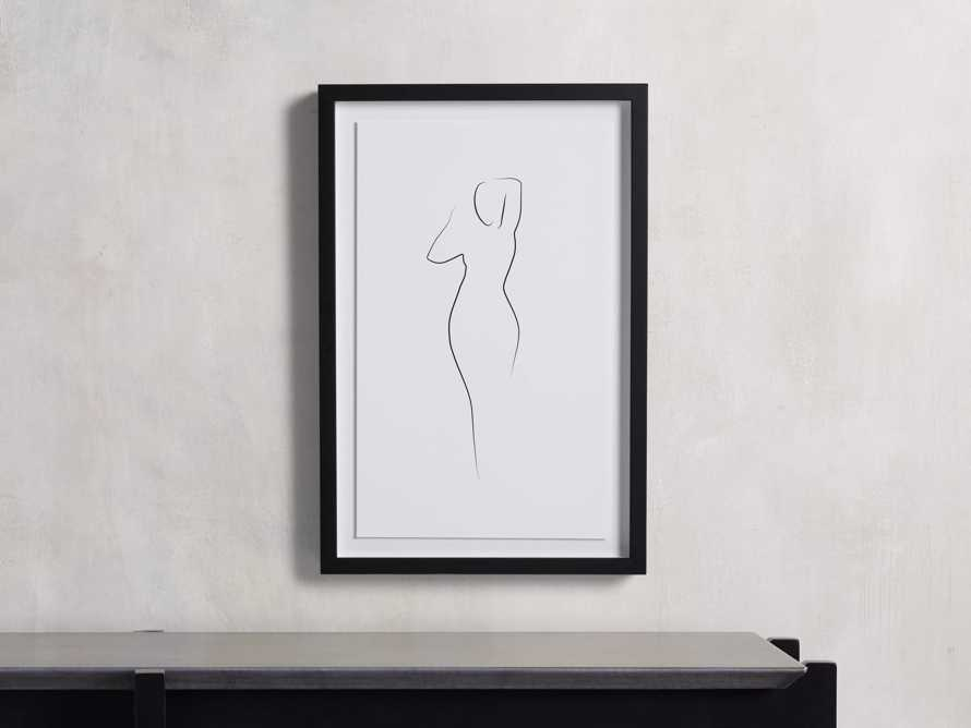 Figure Framed Print II, slide 1 of 6