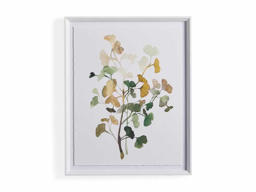 Ginkgo Watercolor Framed Print IV, slide 4 of 4