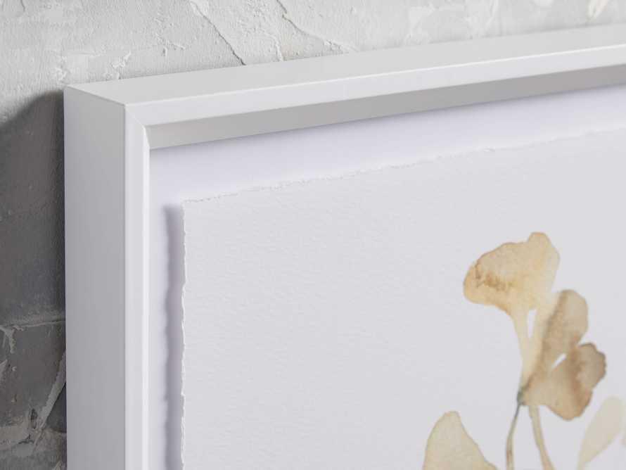 Ginkgo Watercolor Framed Print IV, slide 2 of 4