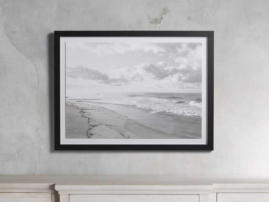 Mission Beach Framed Print, slide 1 of 3
