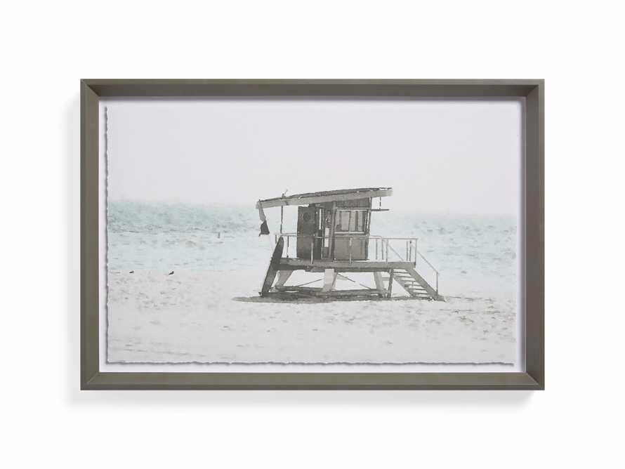 Rehoboth Beach Hut Framed Print, slide 5 of 5