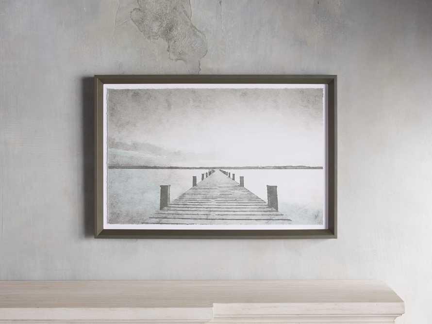 Rehoboth Beach Pier Framed Print, slide 1 of 5