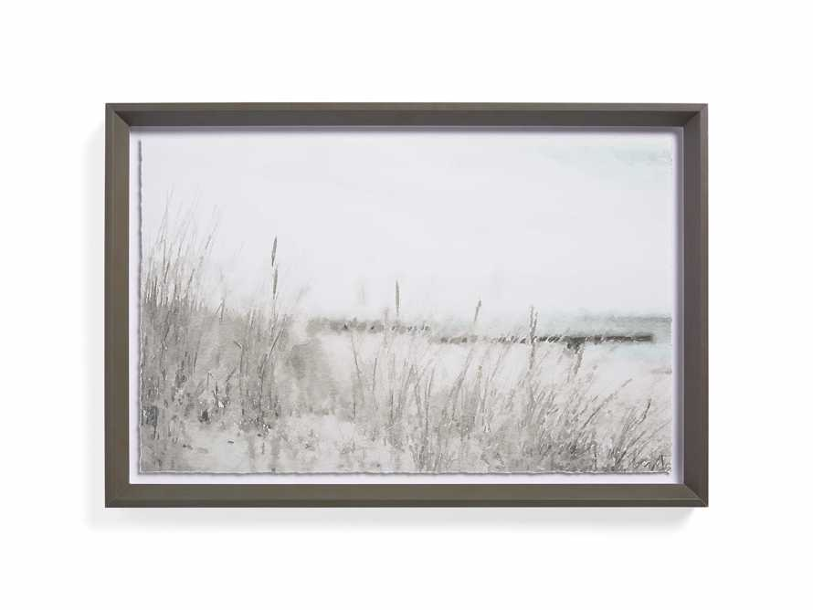 Rehoboth Beach Shore Framed Print