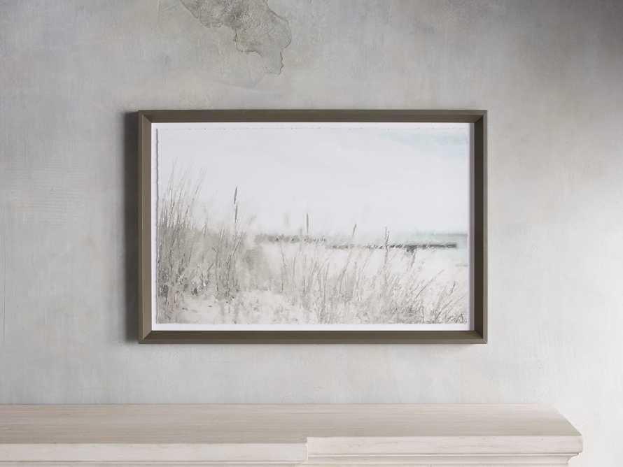 Rehoboth Beach Shore Framed Print, slide 1 of 5