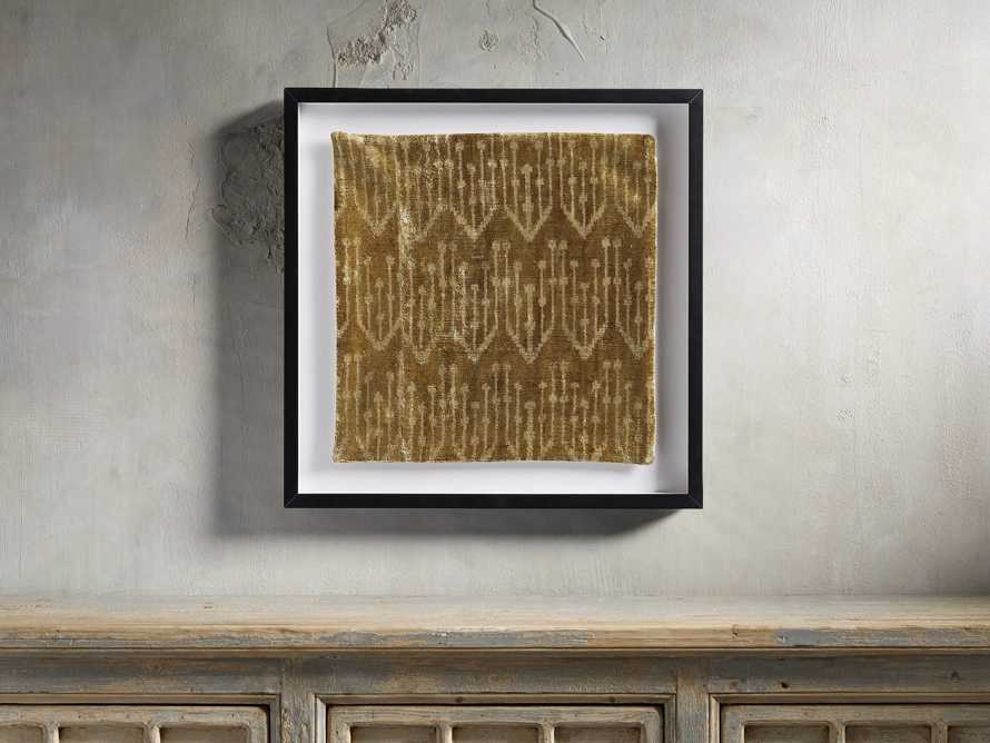 Framed Velvet in Gold Print 2