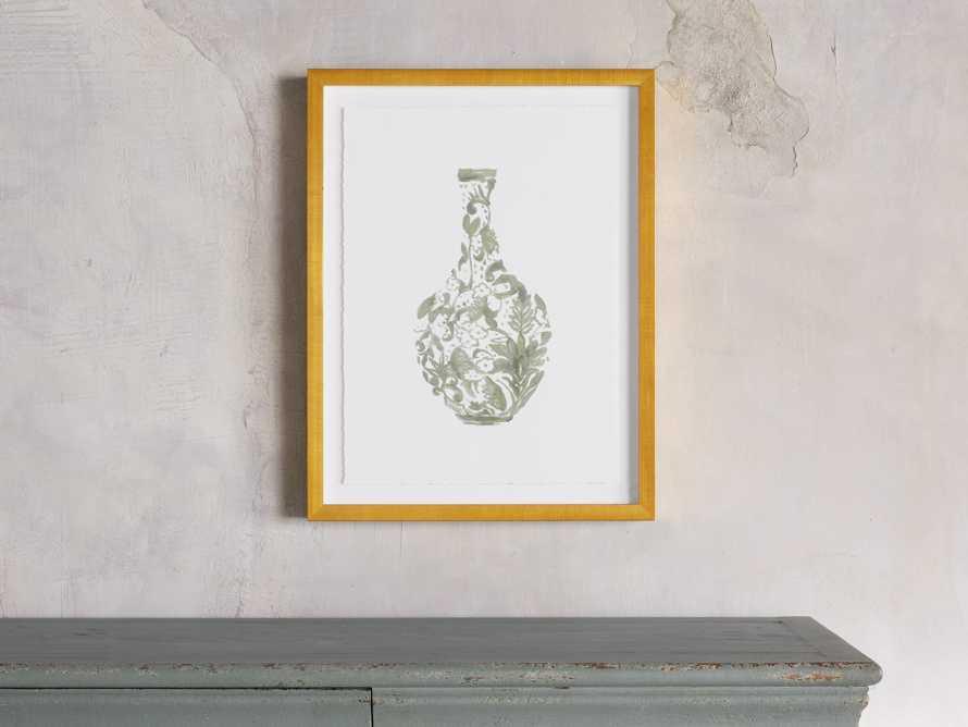 Sage Porcelain Framed Print 1