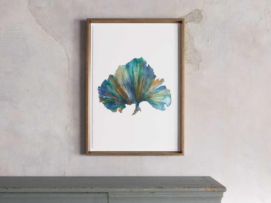 Watercolor Coral Framed Print IV, slide 1 of 6