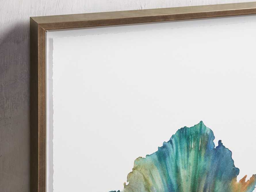 Watercolor Coral Framed Print IV, slide 2 of 6