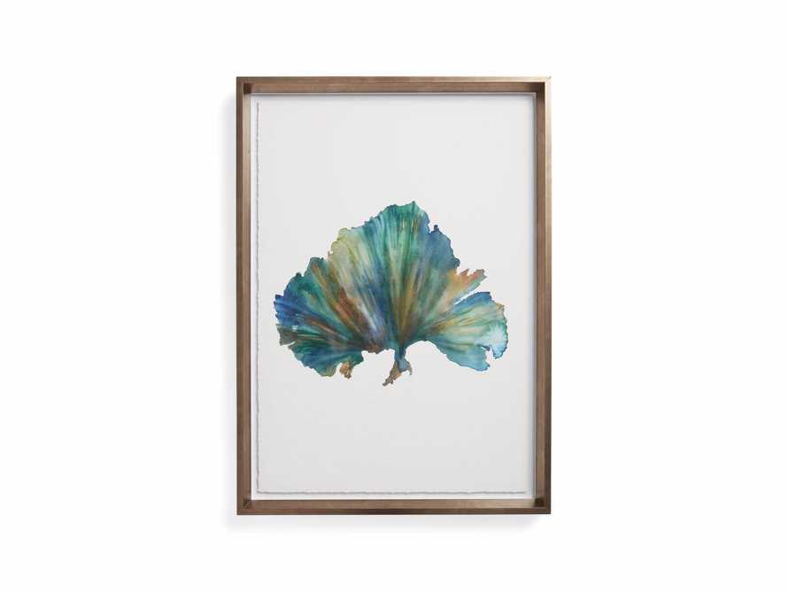 Watercolor Coral Framed Print 4