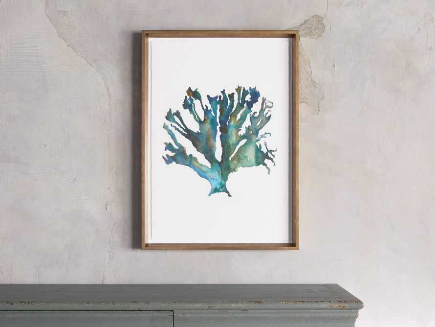 Watercolor Coral Framed Print I, slide 1 of 8