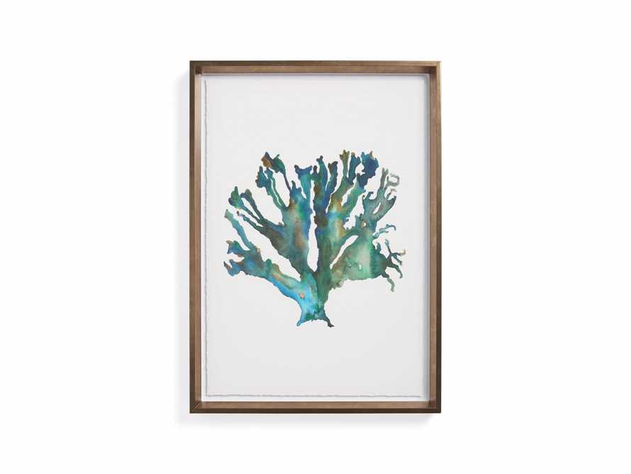 Watercolor Coral Framed Print I, slide 8 of 8