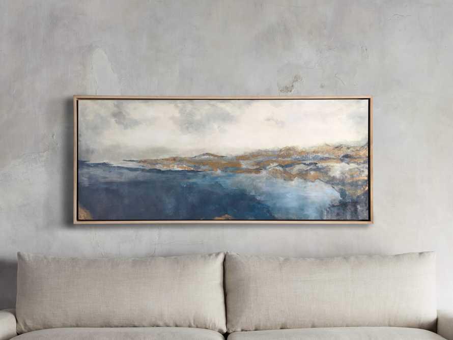Lac Bleu Framed Print, slide 1 of 6