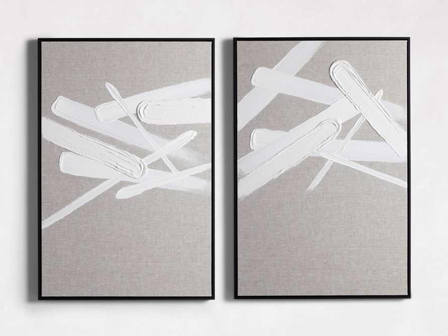 Format Framed Linen Painting I, slide 4 of 7