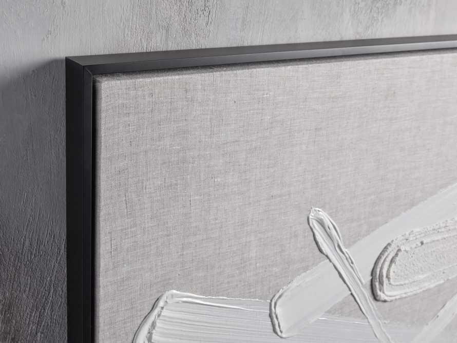 Format Framed Linen Painting I, slide 2 of 7