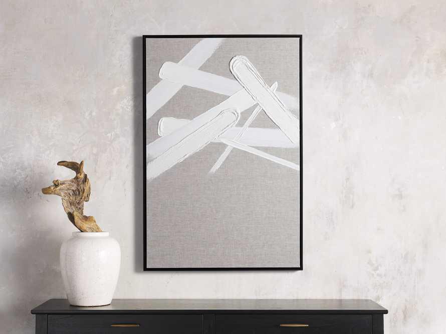 Format Framed Linen Painting II, slide 1 of 6
