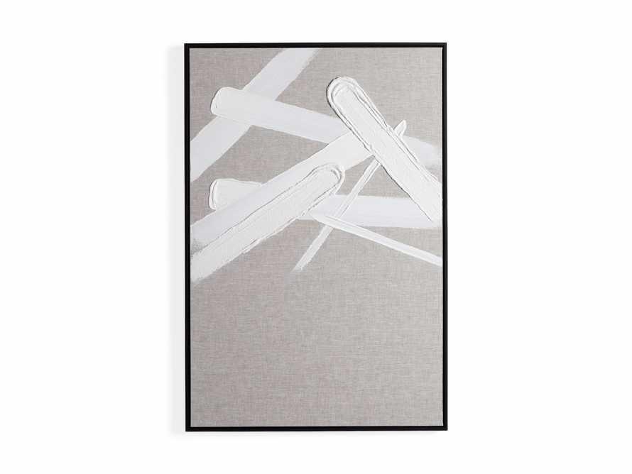 Format Framed Linen Painting II, slide 6 of 6