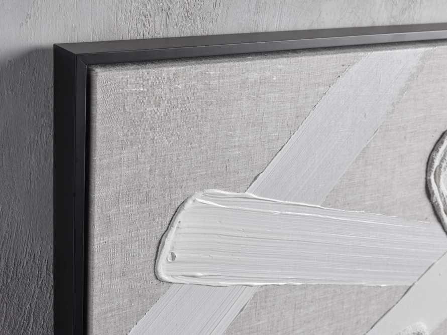 Format Framed Linen Painting II, slide 2 of 6