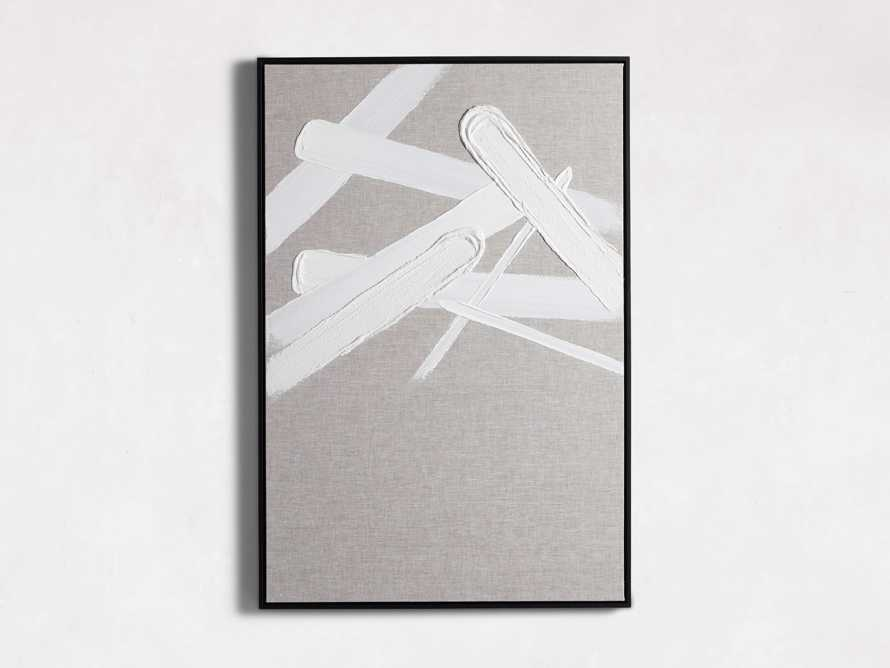 Format Framed Linen Painting II, slide 3 of 6