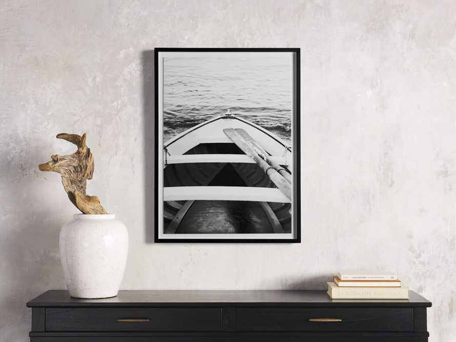 Le Canot Framed Print, slide 1 of 4