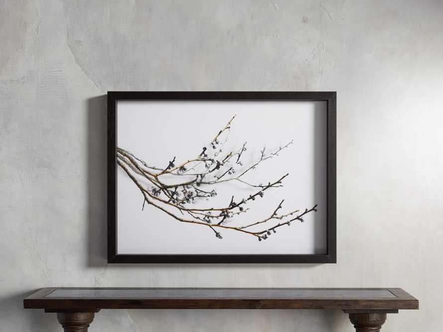 Plum Blossoms Framed Print, slide 1 of 3