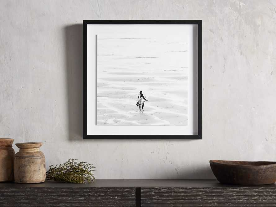 The Surf Framed Print IV, slide 1 of 3