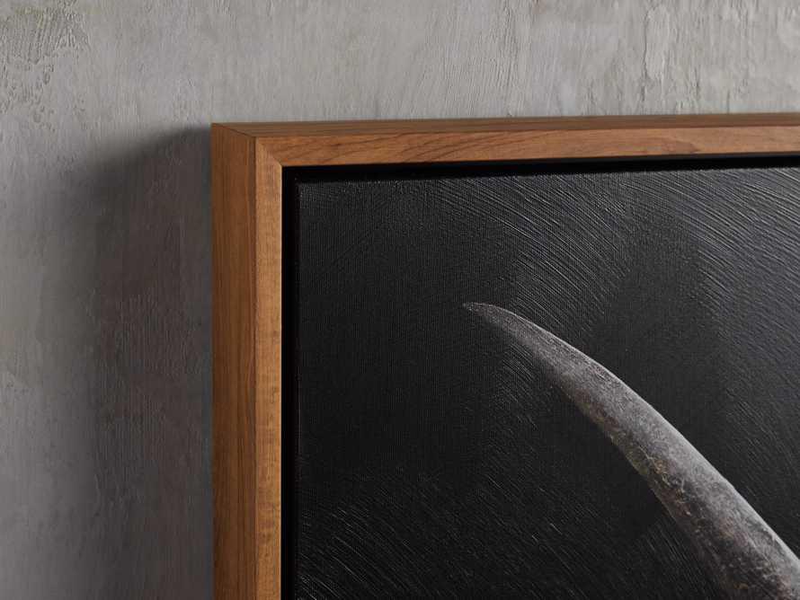 Longhorn Framed Print, slide 2 of 2