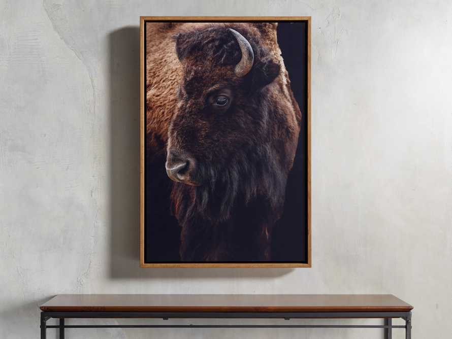 Bison Plains Framed Print, slide 1 of 4