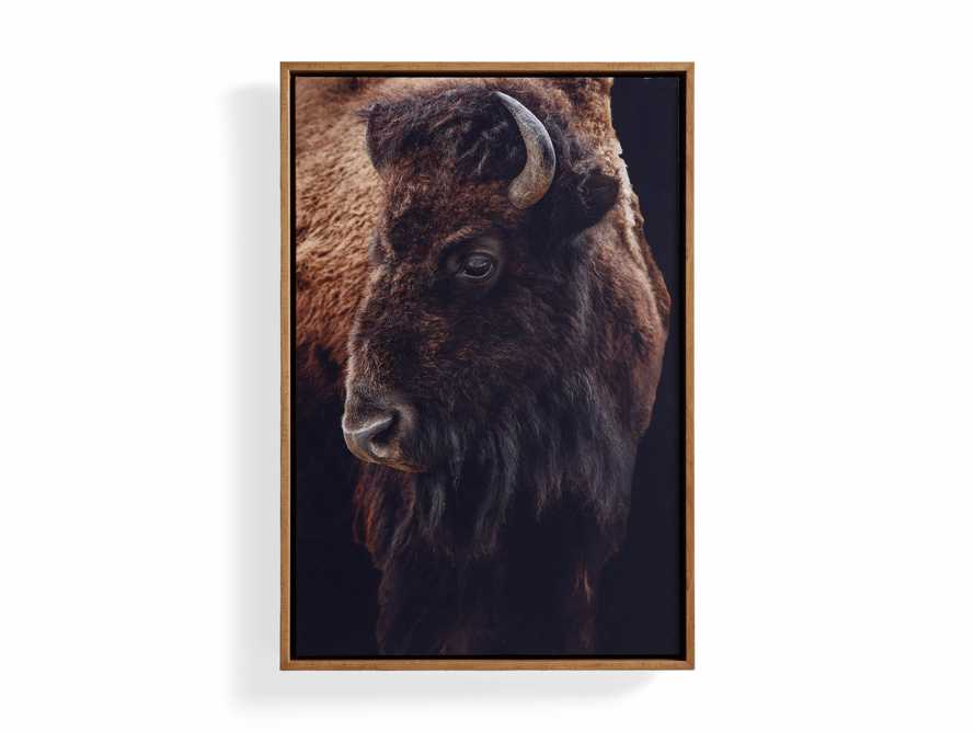 Bison Plains Framed Print, slide 4 of 4