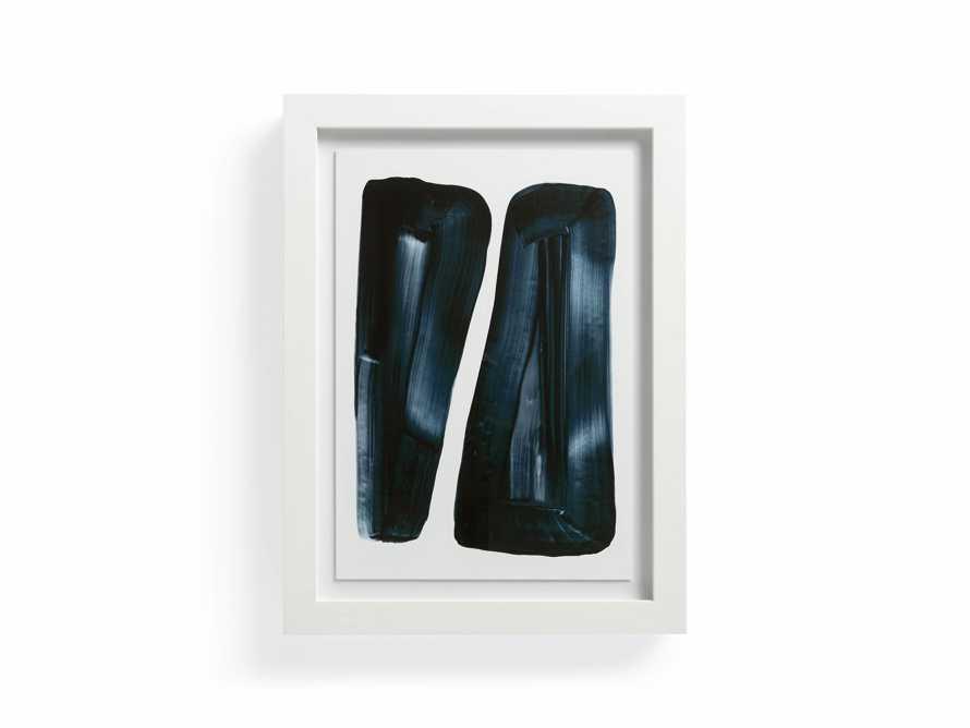 """Black Lines 18"""" x 24"""" Framed Print 2"""