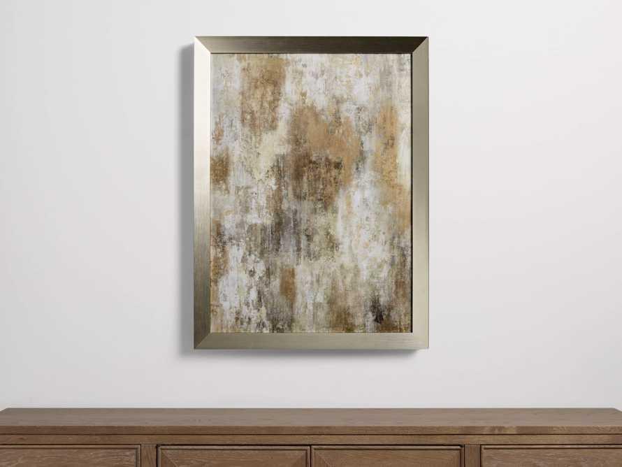 "Dashing Gold 24"" x 36"" Framed Print"