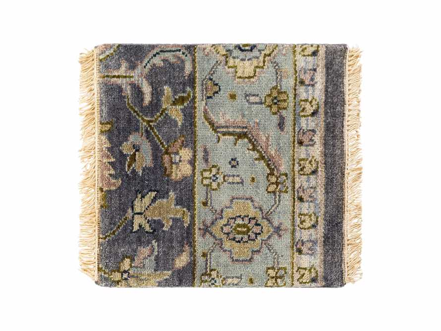 "Alisandra Hand Knotted 18"" Rug Swatch"