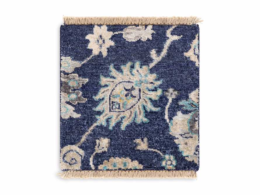 Amelia Rug Swatch in Navy, slide 2 of 2