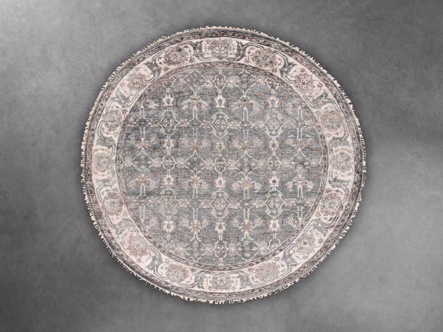 Atrani Hand Knotted 8' Round Rug, slide 1 of 1