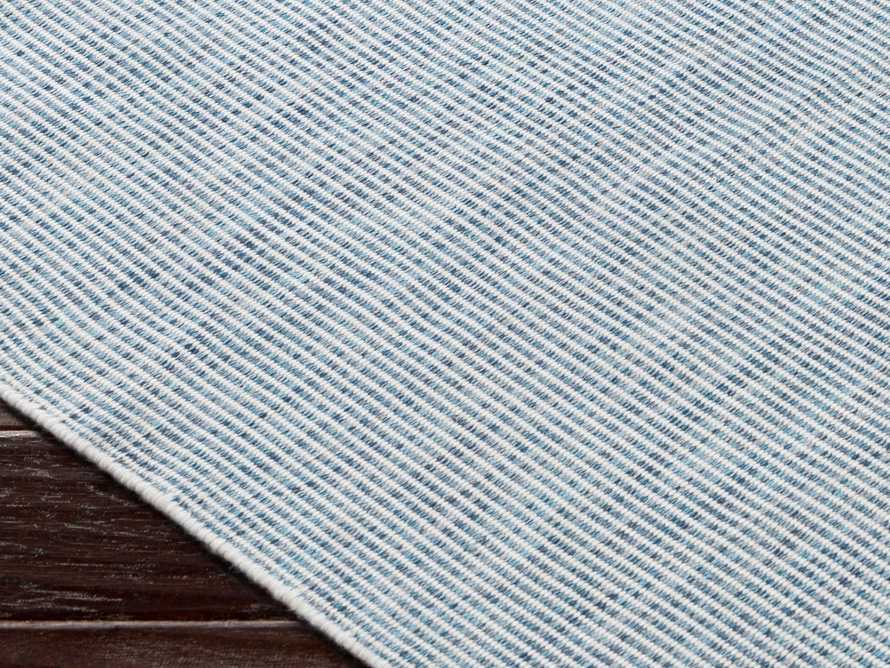 "Collins 5' x 7'6"" Outdoor Rug in Sky Blue"