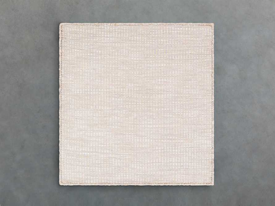 """Collins Outdoor 18"""" Rug Swatch in Taupe"""
