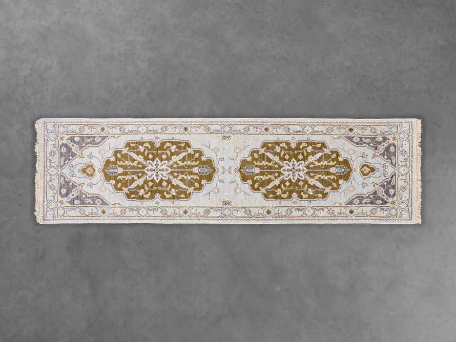 """Evgenia 2' 6"""" X 8' Hand Knotted Floral Runner"""