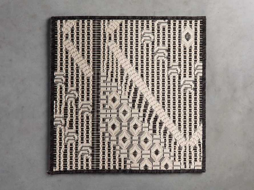 Foxden Performance Rug Swatch in Charcoal, slide 1 of 1